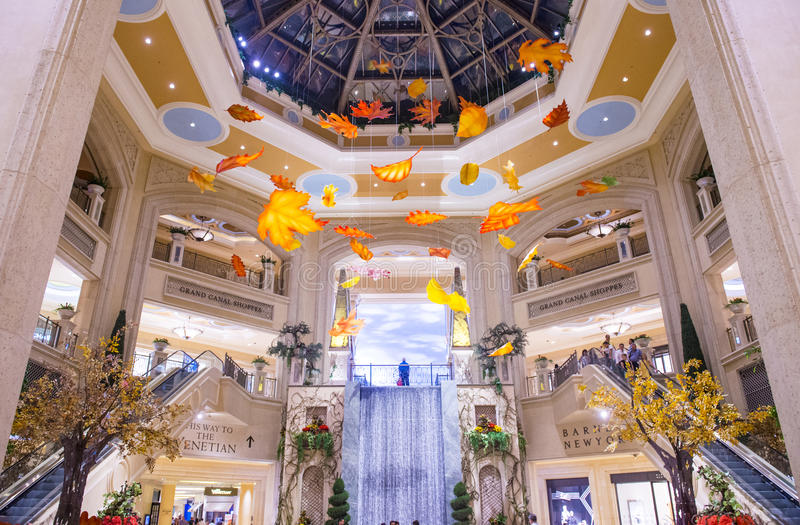Het Venetiaanse hotel van Las Vegas royalty-vrije stock afbeelding
