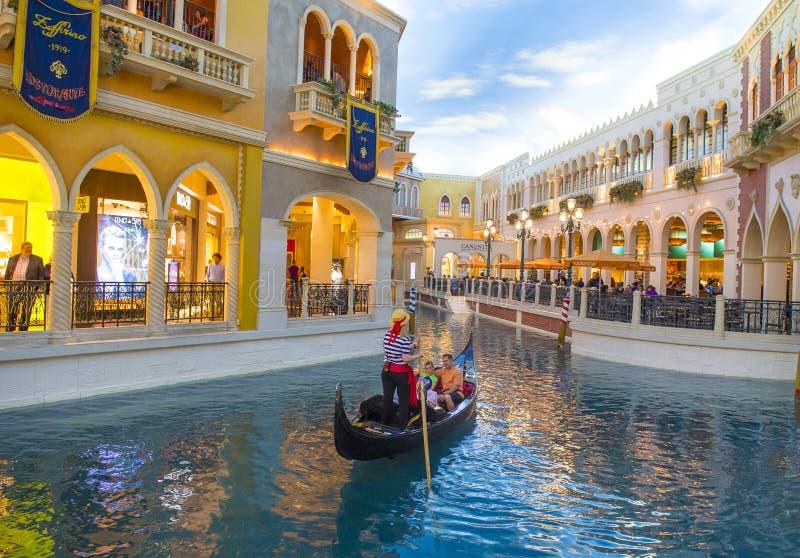 Het Venetiaanse hotel van Las Vegas royalty-vrije stock fotografie