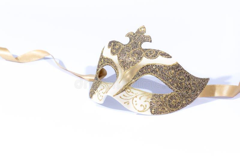 Het Venetiaanse Masker van Carnaval stock foto's