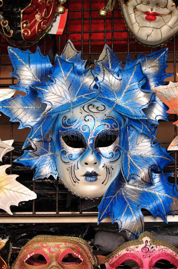 Het Venetiaanse Masker van Carnaval stock afbeelding