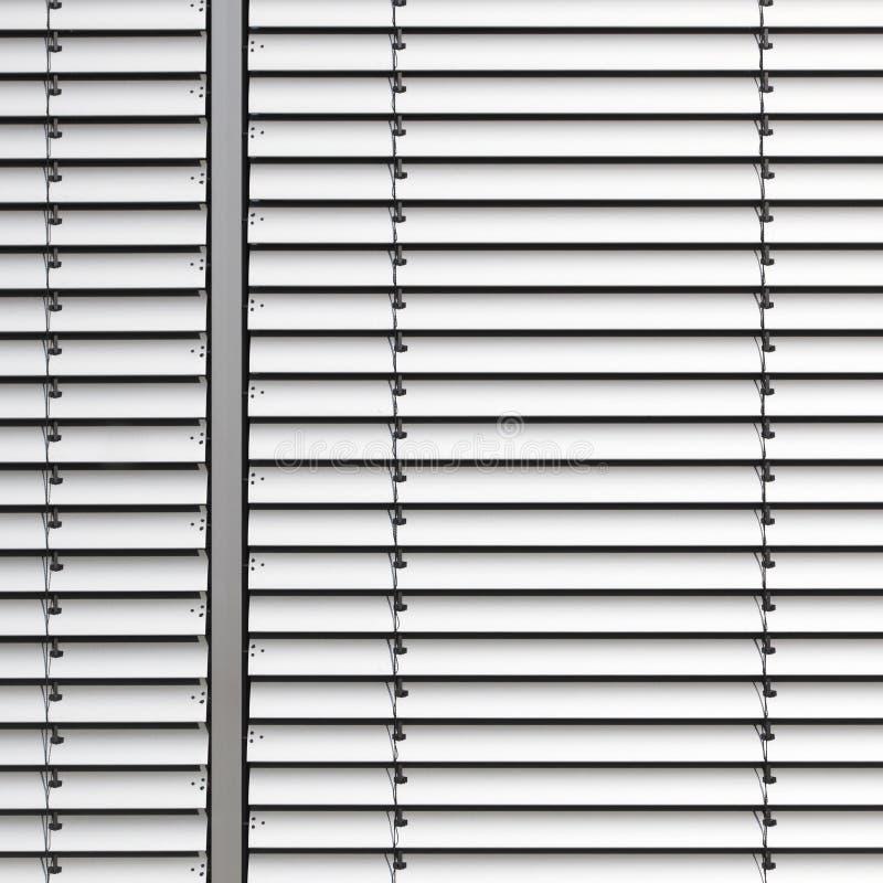 Het venster van de jaloezie of van de lat stock foto