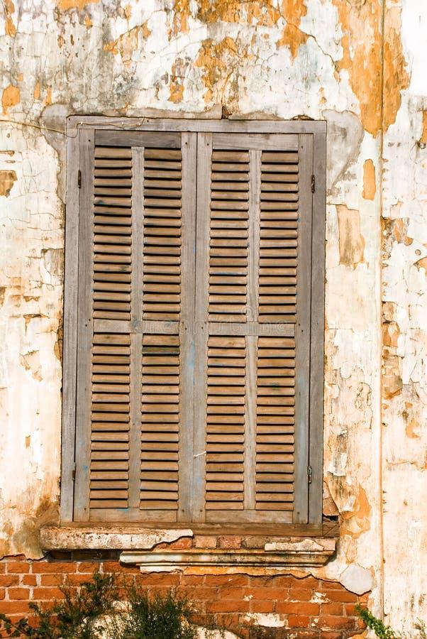 Het venster van de verlaging stock afbeelding