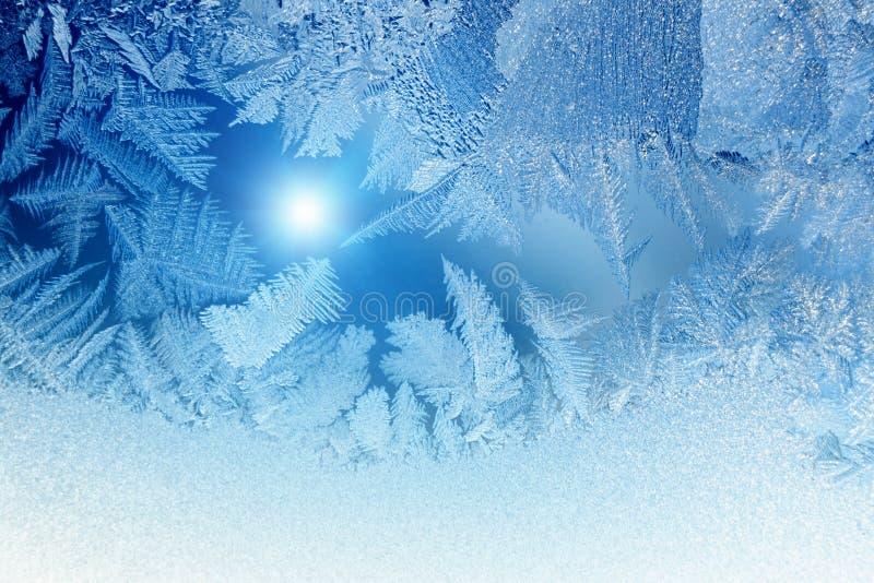 Het venster van de winter royalty-vrije stock afbeelding