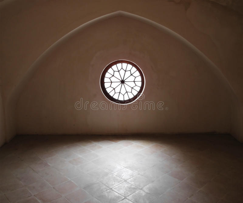 Het venster van de zolder royalty-vrije stock foto's