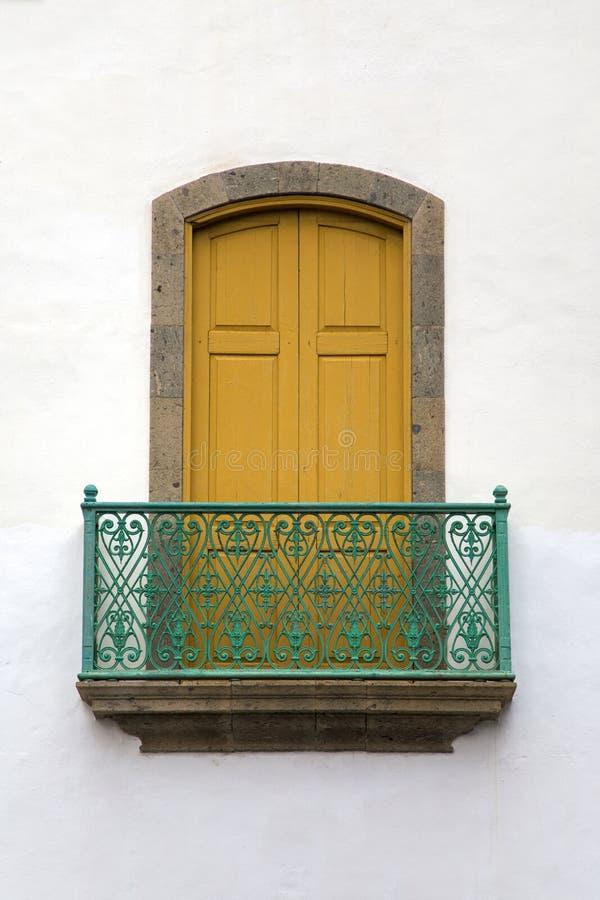 Het venster van Gran Canaria royalty-vrije stock foto