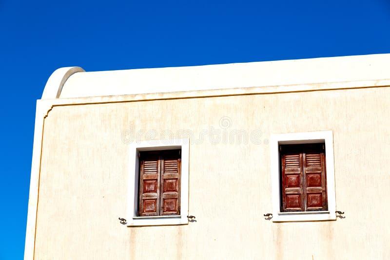 het venster van Griekenland in Europa stock foto