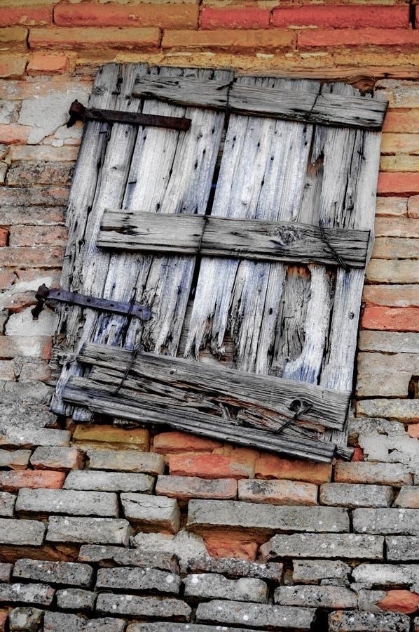 Het venster van Grunge royalty-vrije stock fotografie