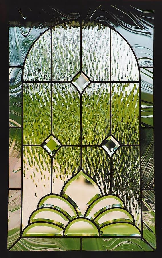 Het venster van het gebrandschilderd glas stock fotografie