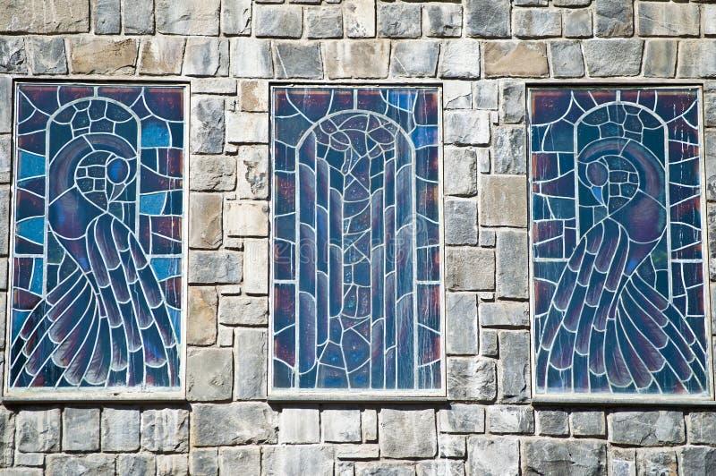 Download Het Venster Van Het Gebrandschilderd Glas Stock Afbeelding - Afbeelding bestaande uit kunstwerk, glans: 29505845