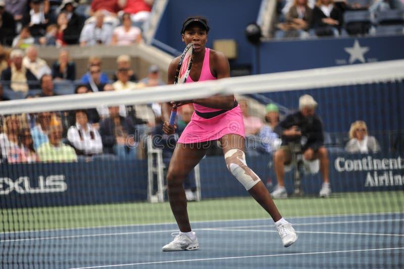 Het Venus van Williams bij de V.S. opent 2009 (209) stock afbeeldingen