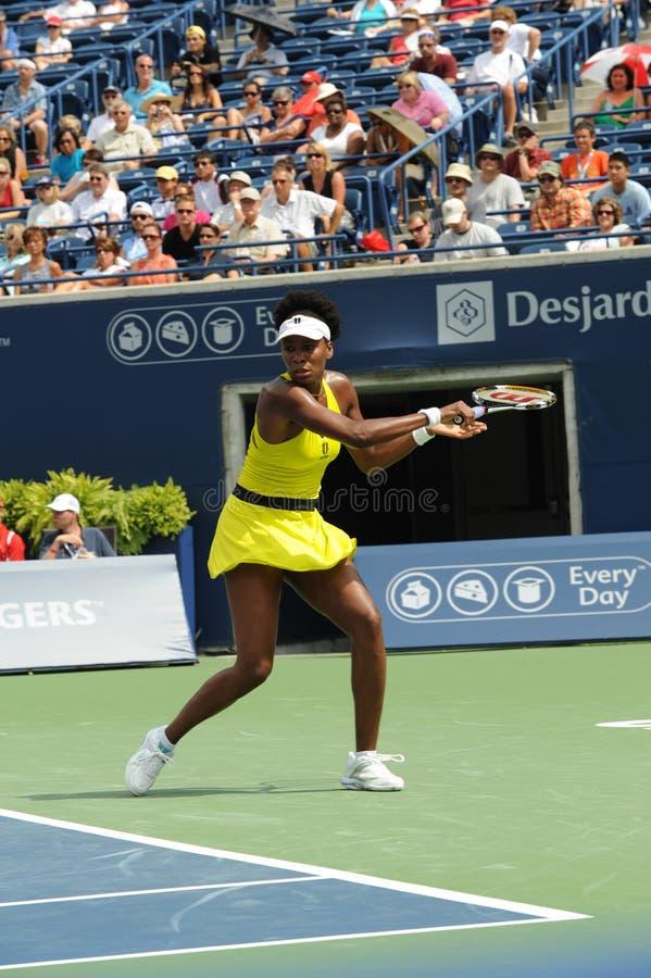 Het Venus van Williams in Rogers vormt 2009 (15) tot een kom royalty-vrije stock afbeeldingen