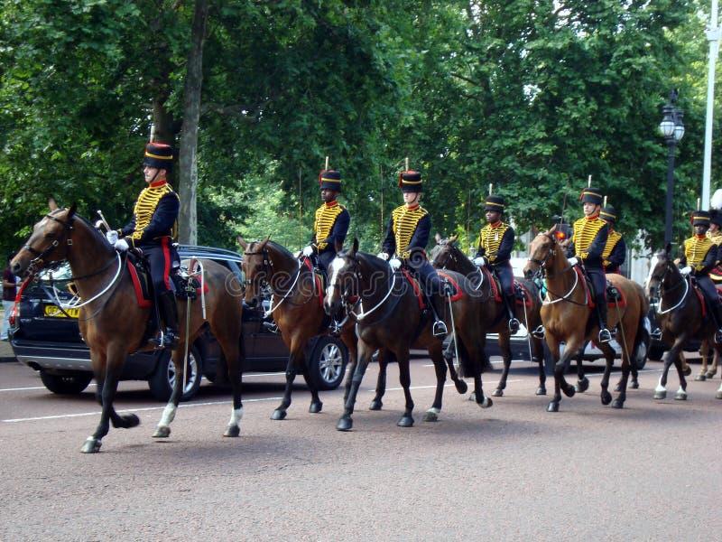 Het veranderen van de Wacht Londen royalty-vrije stock foto's