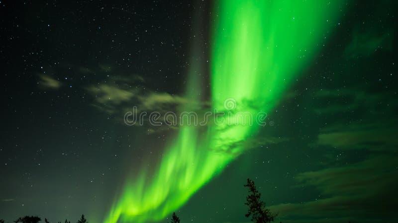 Het verbazen Yellowknife stock foto