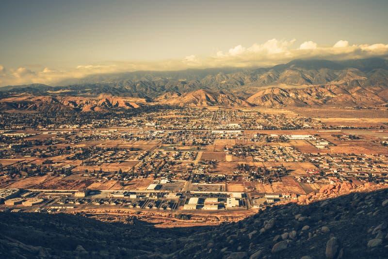 Het verbieden van het Panorama van Californië royalty-vrije stock afbeelding