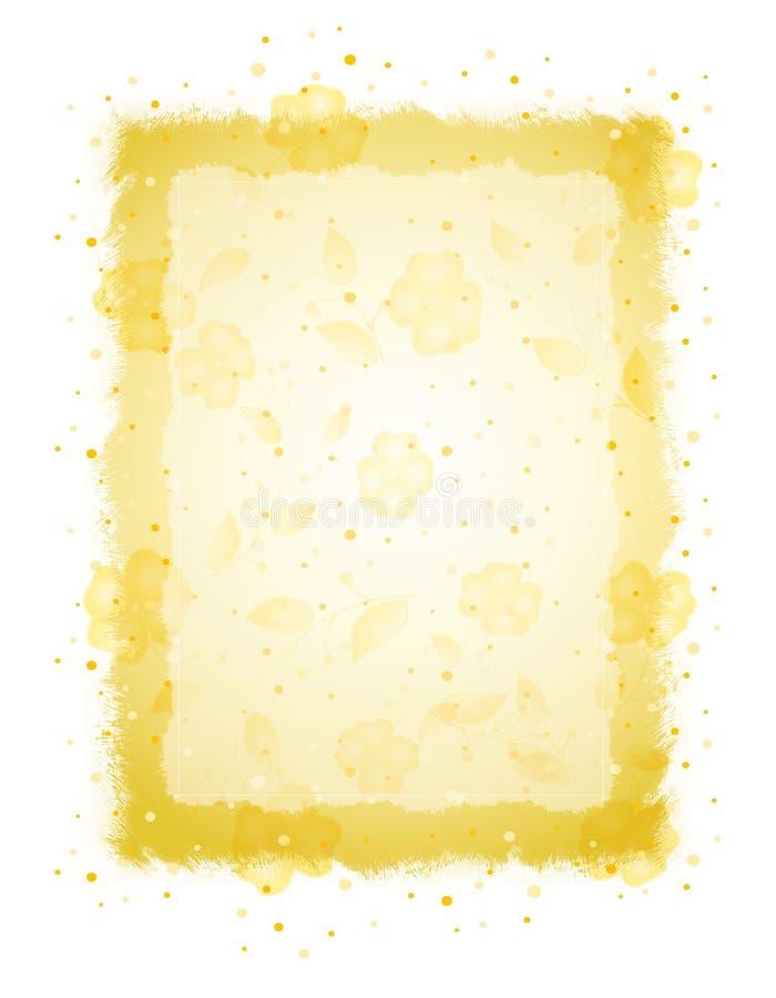 Het verf Geploeterde Document van de Pastelkleur stock illustratie