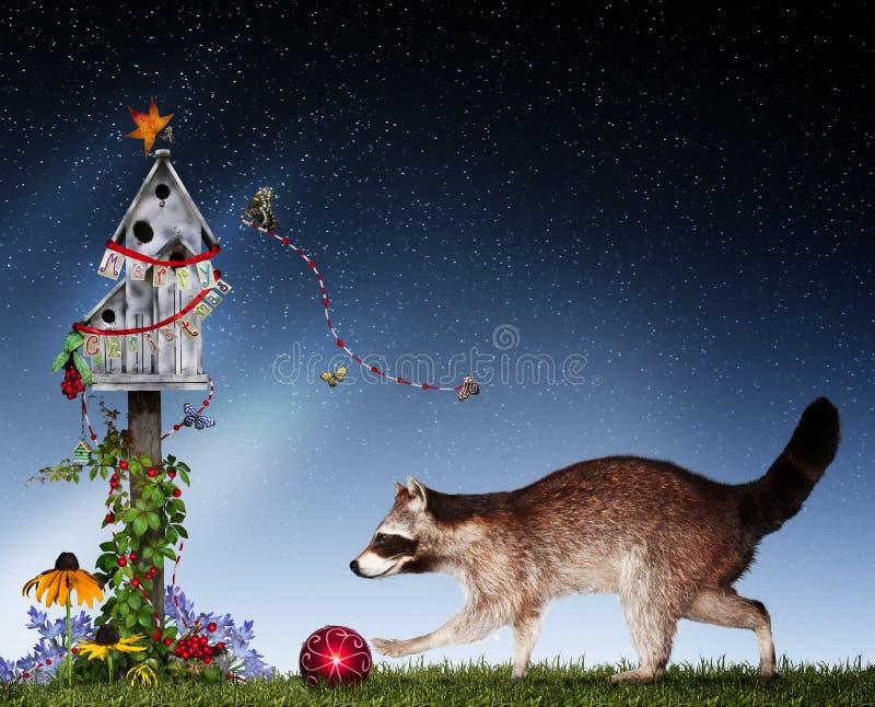 Het verfraaien van Kerstmis royalty-vrije stock fotografie