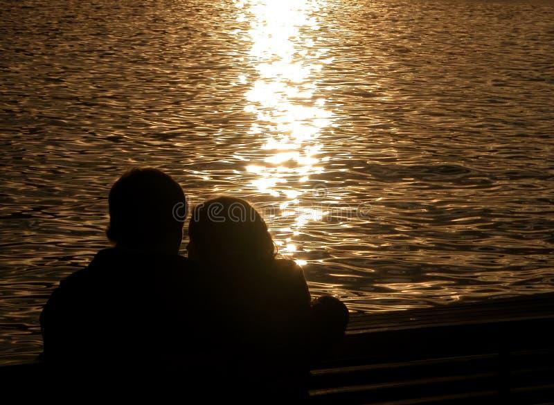 Het verhaal van de liefde stock afbeelding