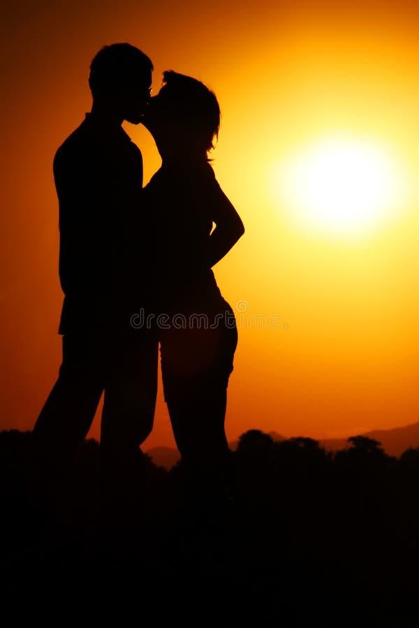 Het verhaal van de liefde stock afbeeldingen
