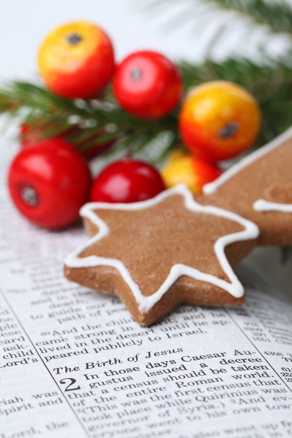 Het verhaal van Kerstmis stock afbeelding