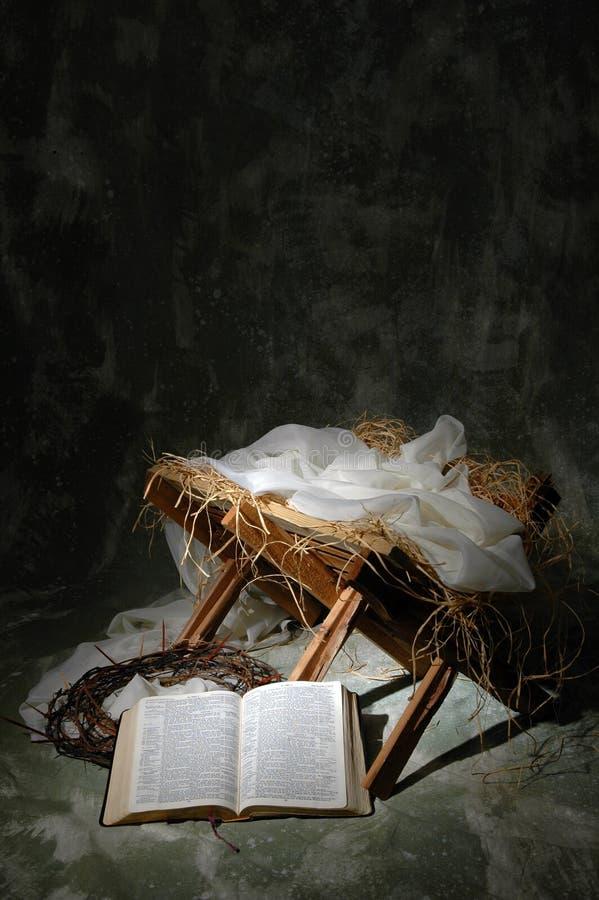 Het verhaal van Kerstmis stock afbeeldingen