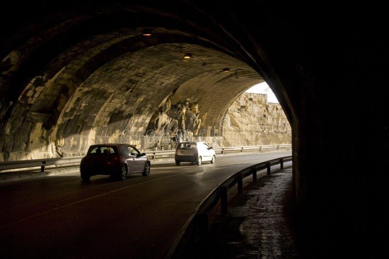 Het verkeer van de tunnel royalty-vrije stock fotografie
