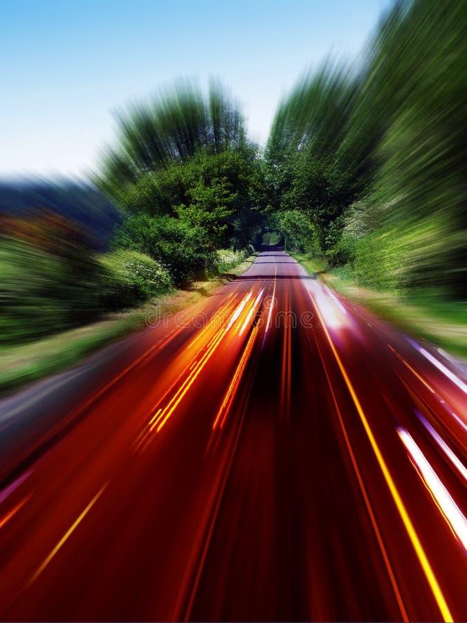 Het verkeer van Ast stock afbeelding