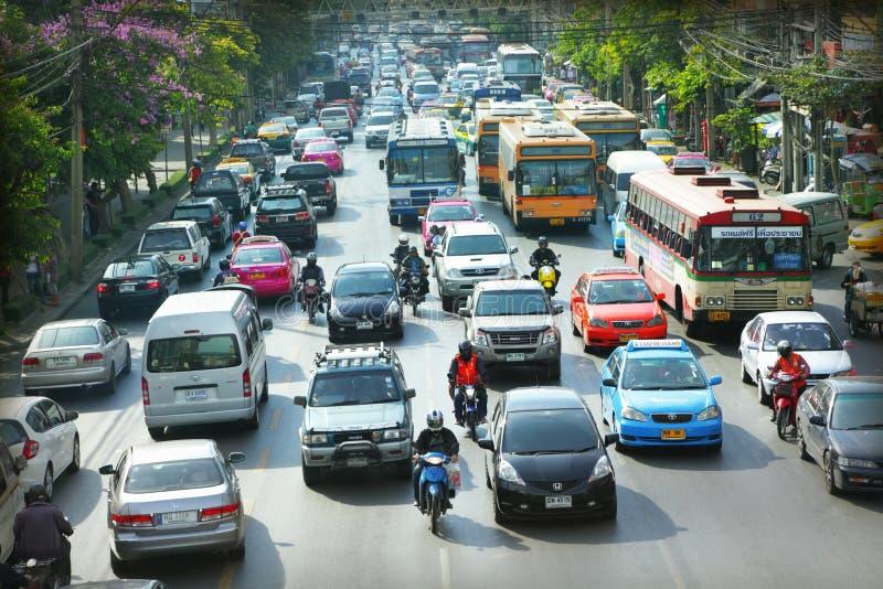 Het verkeer van de stad royalty-vrije stock foto