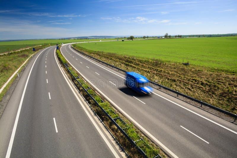Het verkeer van de weg royalty-vrije stock fotografie
