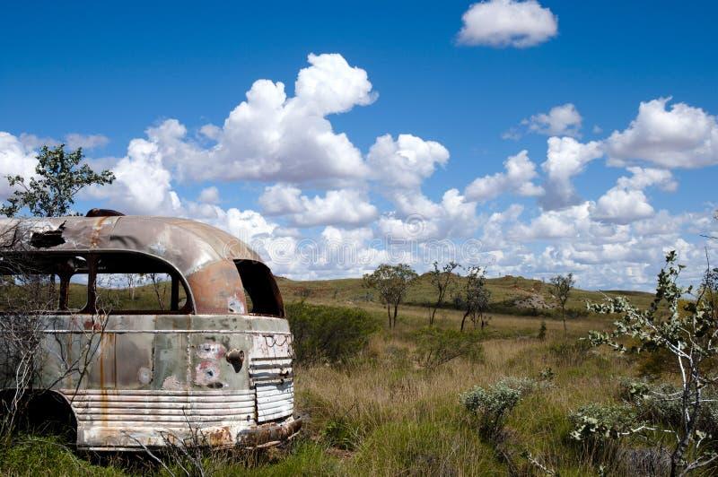 Het verlaten Kamp van de Exploratiemijnbouw - Australië stock foto