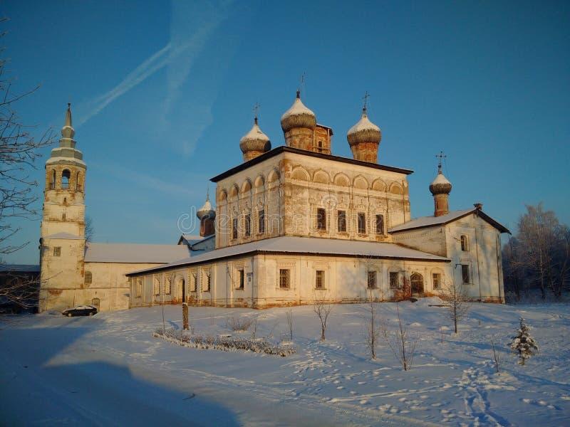 Het verlaten Orthodoxe Klooster royalty-vrije stock afbeeldingen