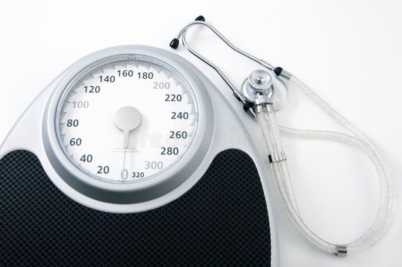 Het Verlies van het gewicht voor Gezondheid royalty-vrije stock afbeeldingen