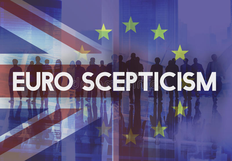 Het Verlof Europese Unie van Brexitgroot-brittannië Opgehouden met Referendumconcept royalty-vrije stock afbeeldingen