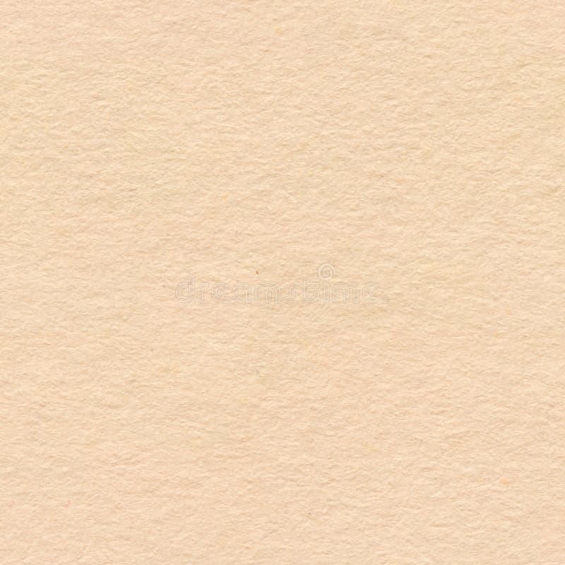 Het verpakken document bruine kartontextuur Naadloze vierkante backgrou stock afbeeldingen