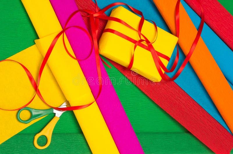 Het verpakken van de gift royalty-vrije stock afbeelding