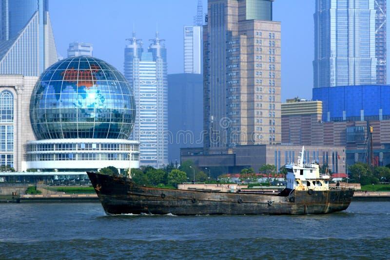 Het Verschepen van Shanghai stock foto