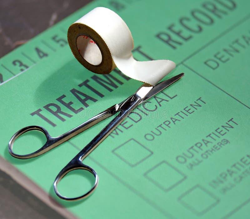 Het Verslag van de medische Behandeling royalty-vrije stock foto