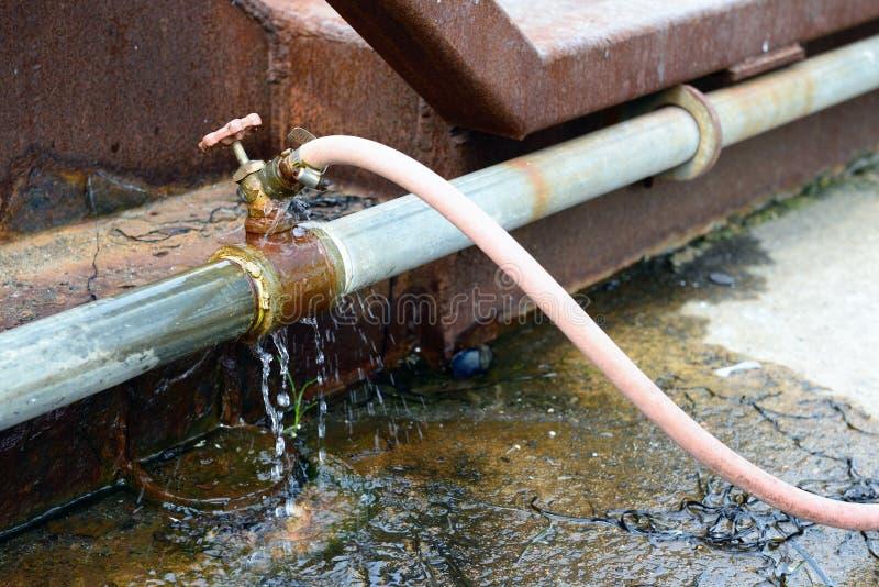 Het verspillen van water royalty-vrije stock fotografie