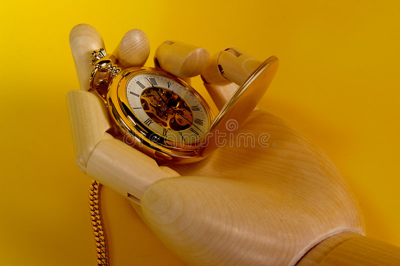 Download Het vertellen Tijd stock foto. Afbeelding bestaande uit houten - 33774