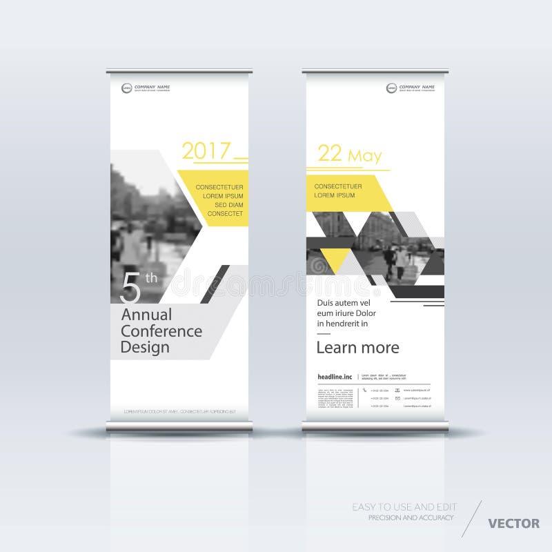Het verticale ontwerp van het bannermalplaatje stock illustratie