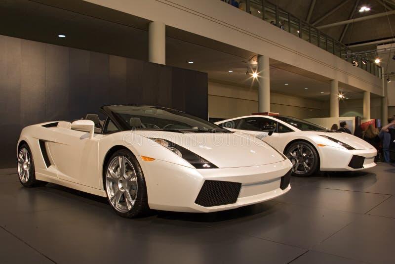 Het vervoer auto toont auto royalty-vrije stock afbeelding