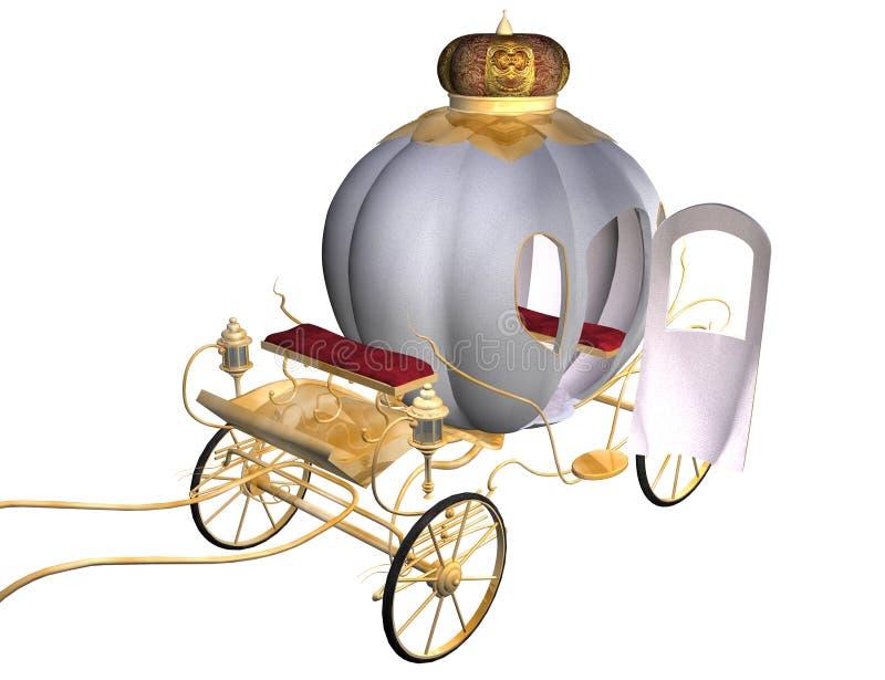 Het vervoer van Cinderella stock illustratie