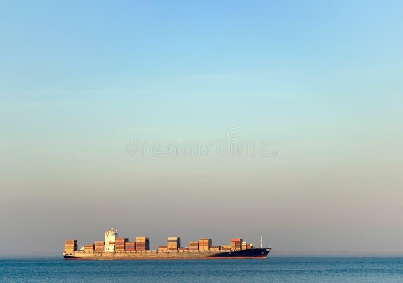 Het vervoer van de container stock foto