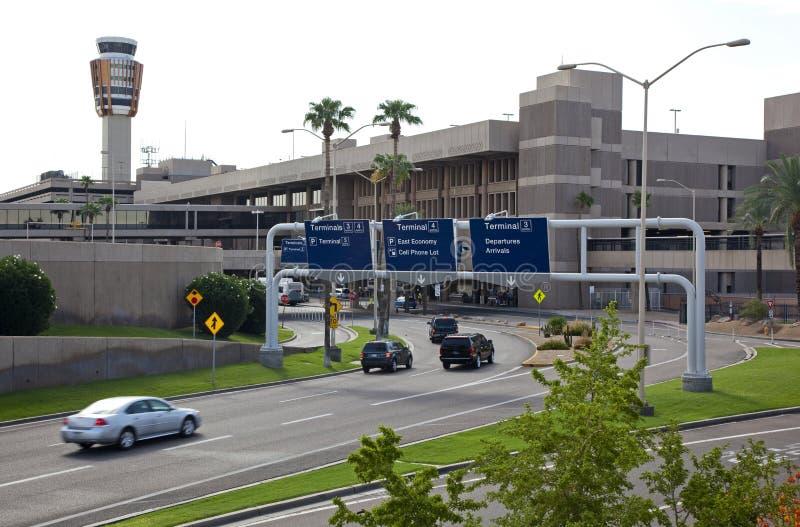 Het Vervoer van de luchthavengrond stock afbeeldingen