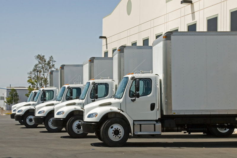 Het Vervoer van de vracht royalty-vrije stock foto's