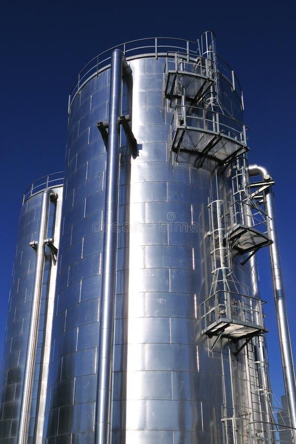 Het verwarmen van Distric watertank royalty-vrije stock foto