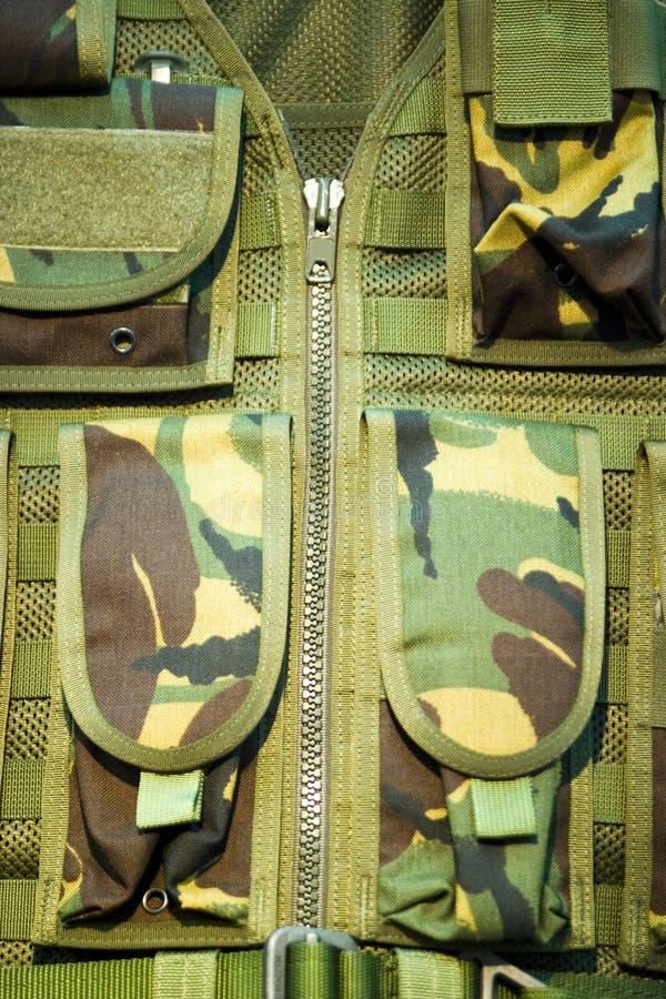Het Vest van de camouflage royalty-vrije stock afbeelding