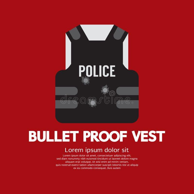 Het Vest van het kogelbewijs stock illustratie