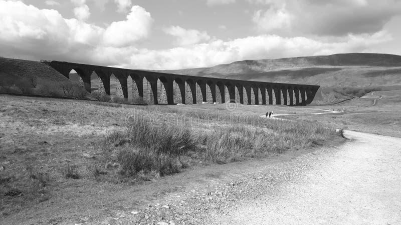 Het viaduct stock foto