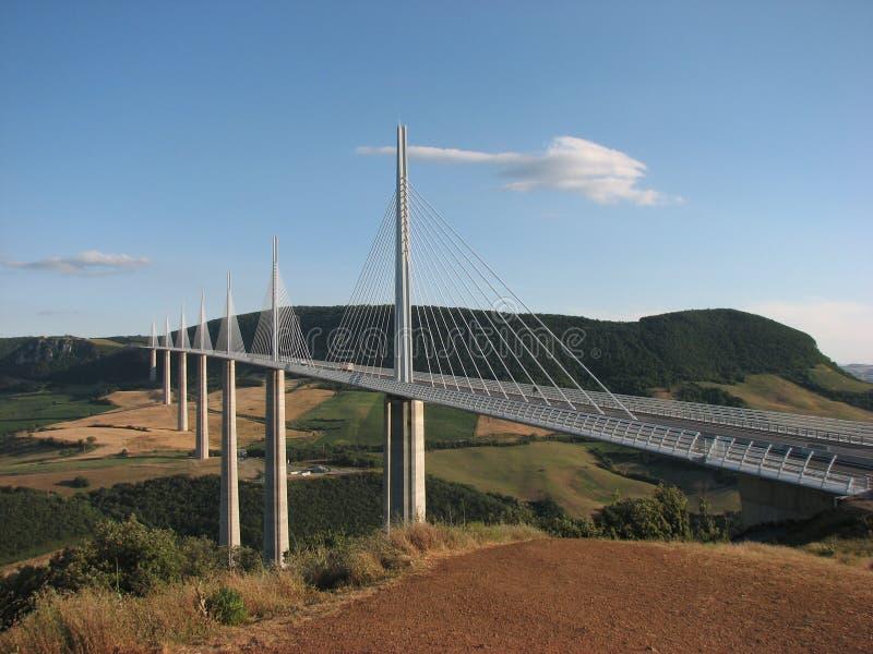 Het Viaduct Frankrijk van Millau royalty-vrije stock foto's