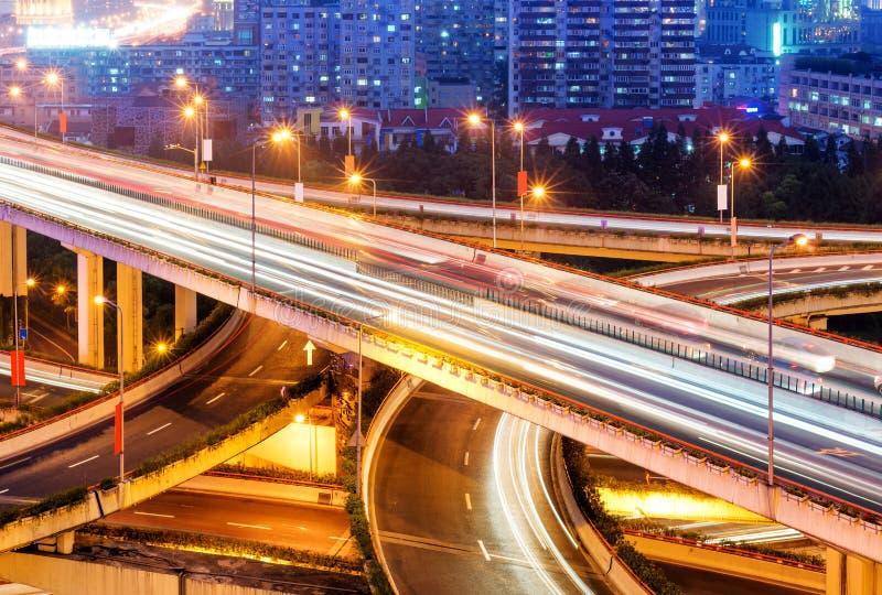 Het viaduct van Shanghai royalty-vrije stock afbeeldingen
